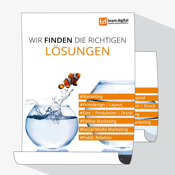 Plakate im Digitaldruck, DIN A0, A1 und A2 – druckexperten.de